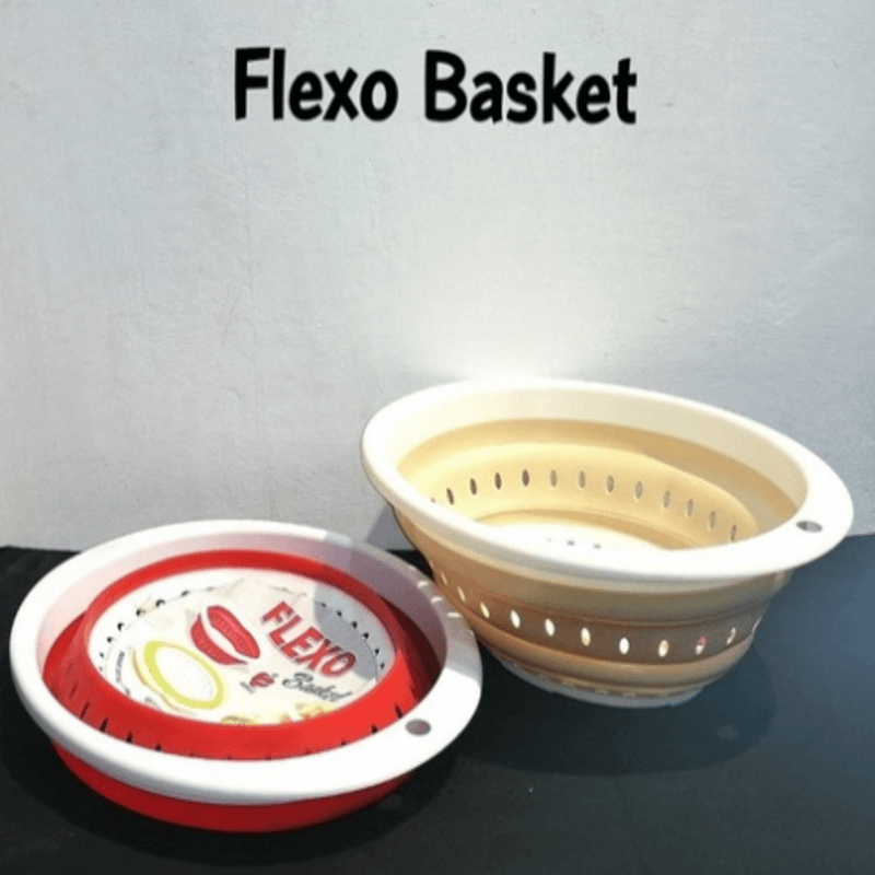 Kitchen Flexo Collapsible Basket (2 Pack)