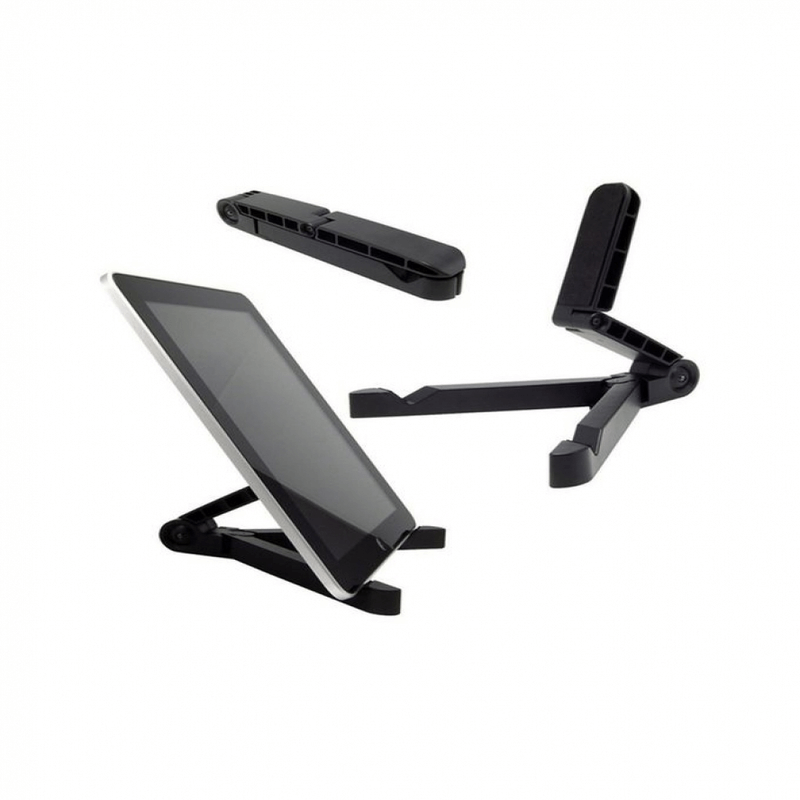 portable-fold-up-universal-phone-stand-tablet-holder-black