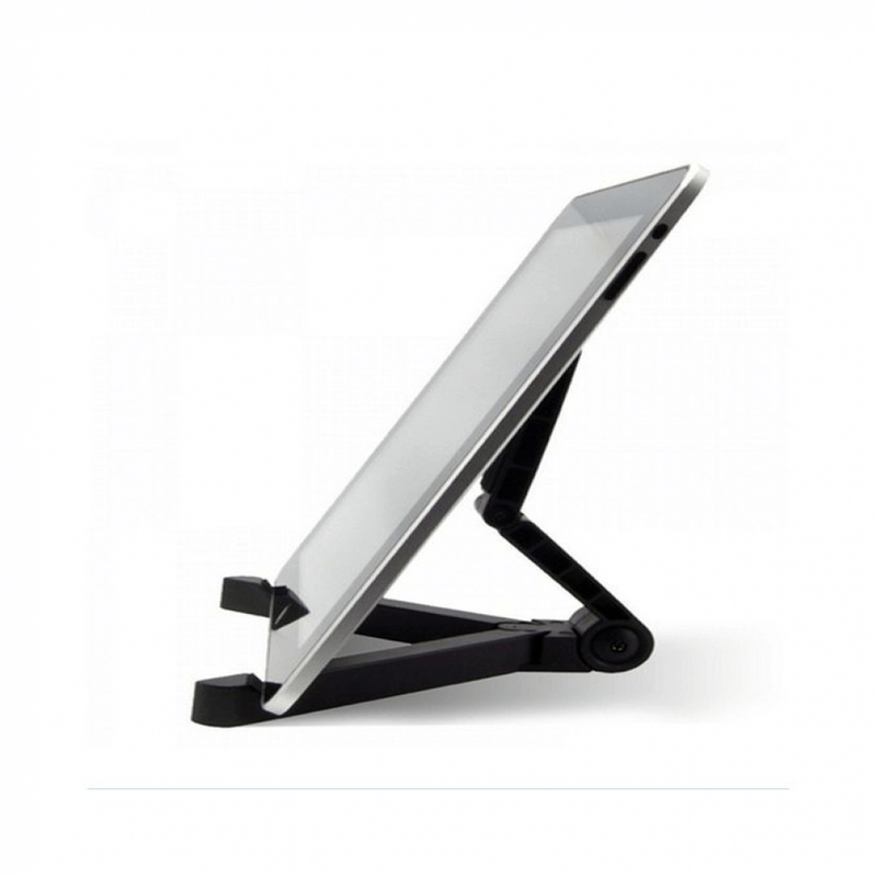 Portable Fold - Up Universal Phone Stand Tablet Holder - Black