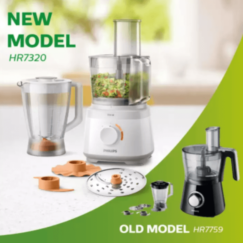 Philips Daily Collection Compact Food Processor - HR7320-00