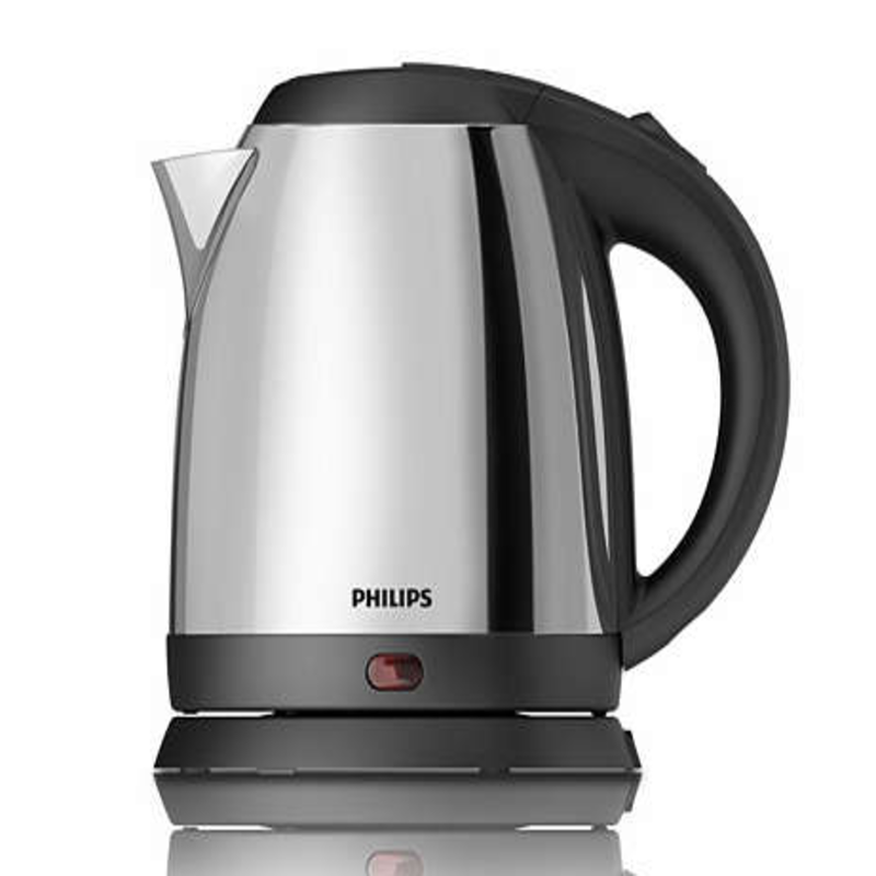 Philips Electric Kettle Silver & Black