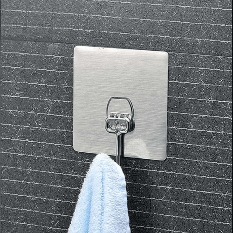 Removable Metal Hook with Magic Sticker