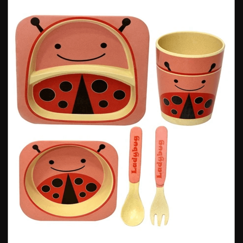 bamboo-fiber-kids-dinnerware-5-pcs-toddler-dinner-set-pak