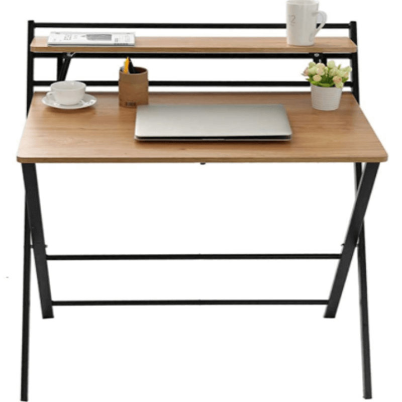 Foldable Computer Desk, Small Lazy Laptop Table