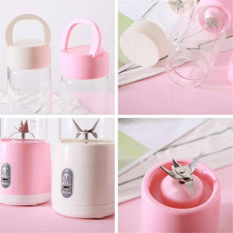 500ml Portable Mini Electric USB Rechargeable Juicer