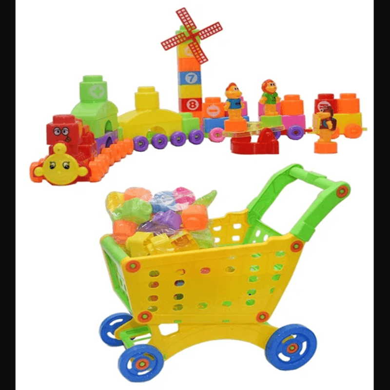 blocks-disassembly-shopping-cart-for-kids