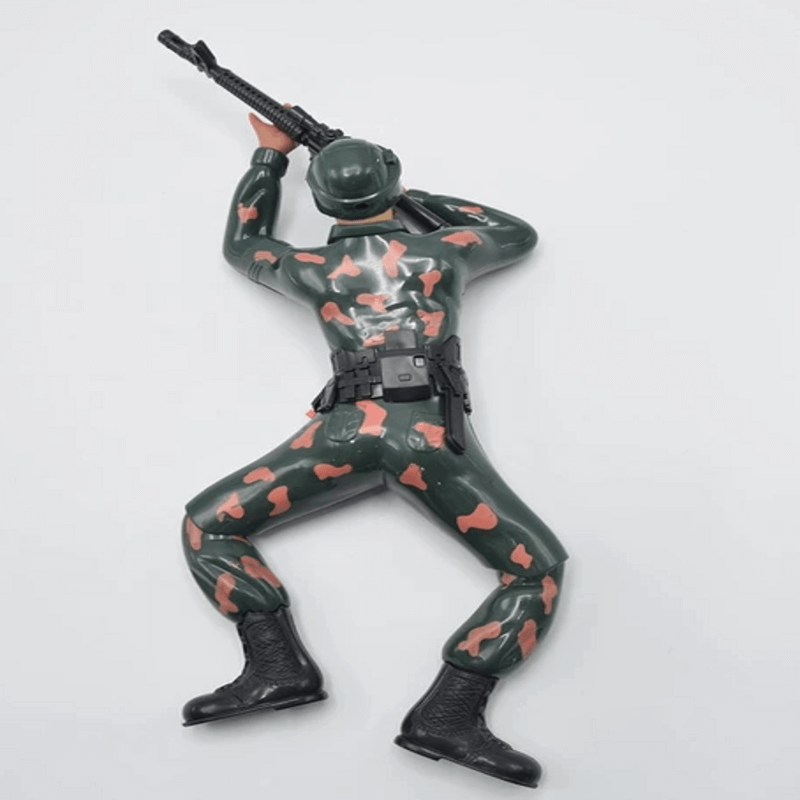 Crawling Army Soldier Battery Operated