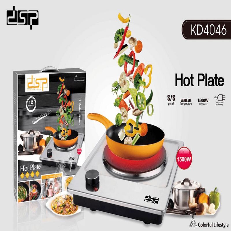 DSP Electric Burner Countertop Hot Plate
