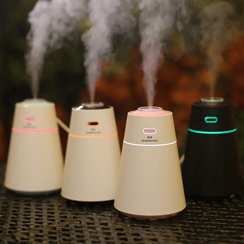 M3 Air Humidifier Essential Oil Diffuser LED Night Light