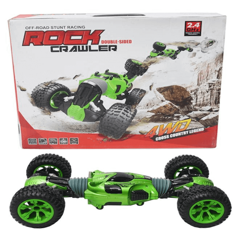 Rock Crawler RC Double Sided Off-Road Stunt Car