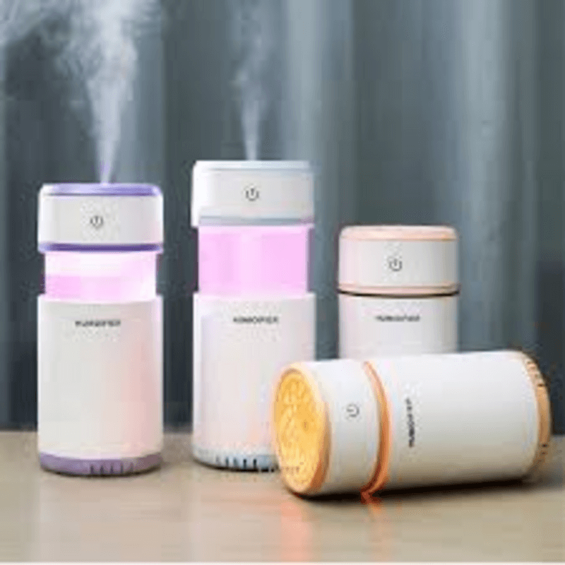 air-humidifier-200ml-oil-diffuser-LED-air-purifier-
