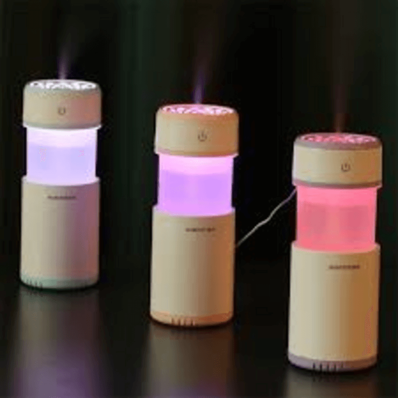 Air Humidifier 200ml Oil Diffuser LED Air Purifier