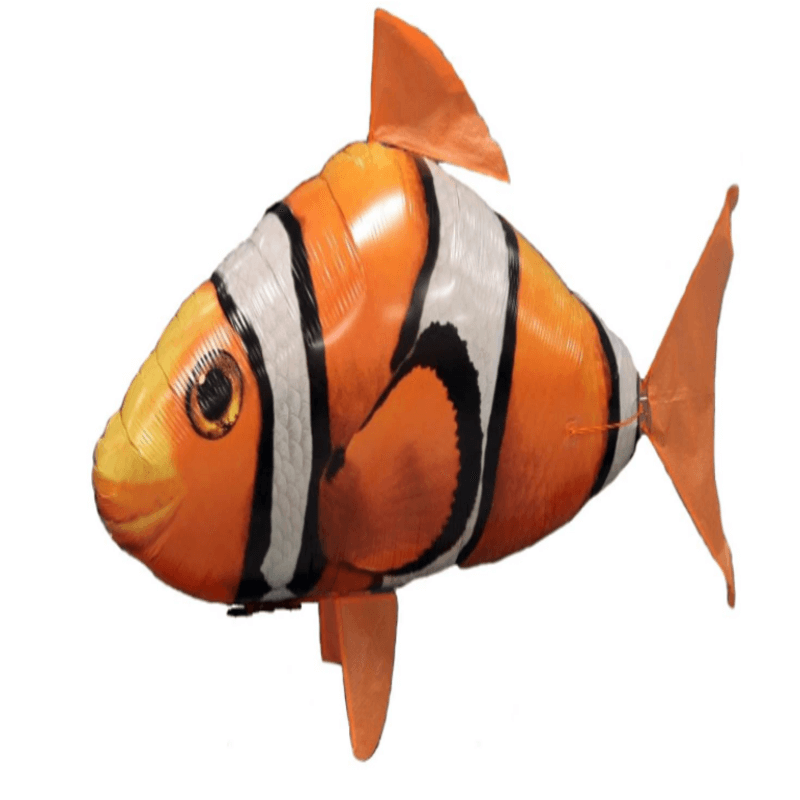 Remote Control Inflatable Flying Nemo Fish Toy