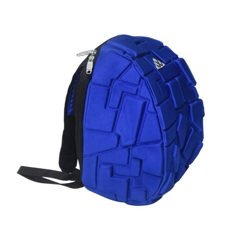 Hard Shell waterproof Backpack in Blue