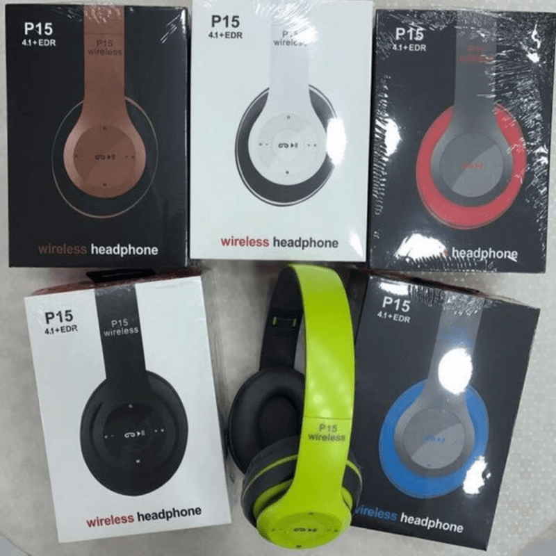 Wireless Bluetooth Bass Stereo Headphones
