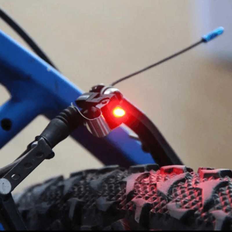 Bicycle Rainproof Brake LED