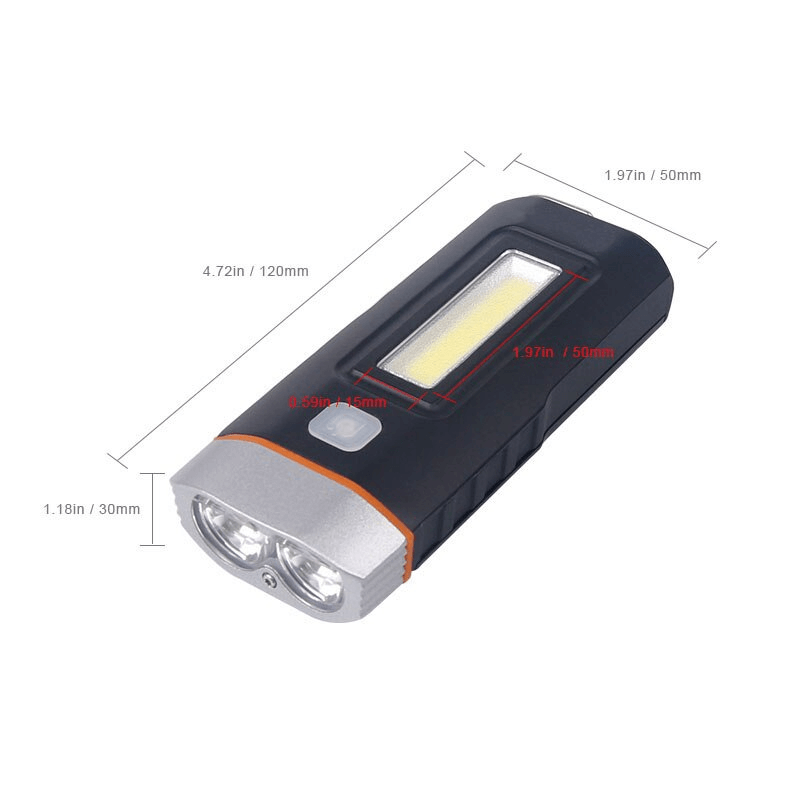 Rechargeable T6 Waterproof LED Bicycle Head Light