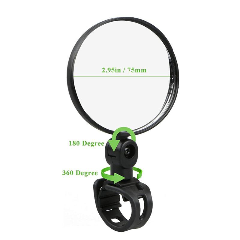 Rear View Bicycle Reflex Mirror