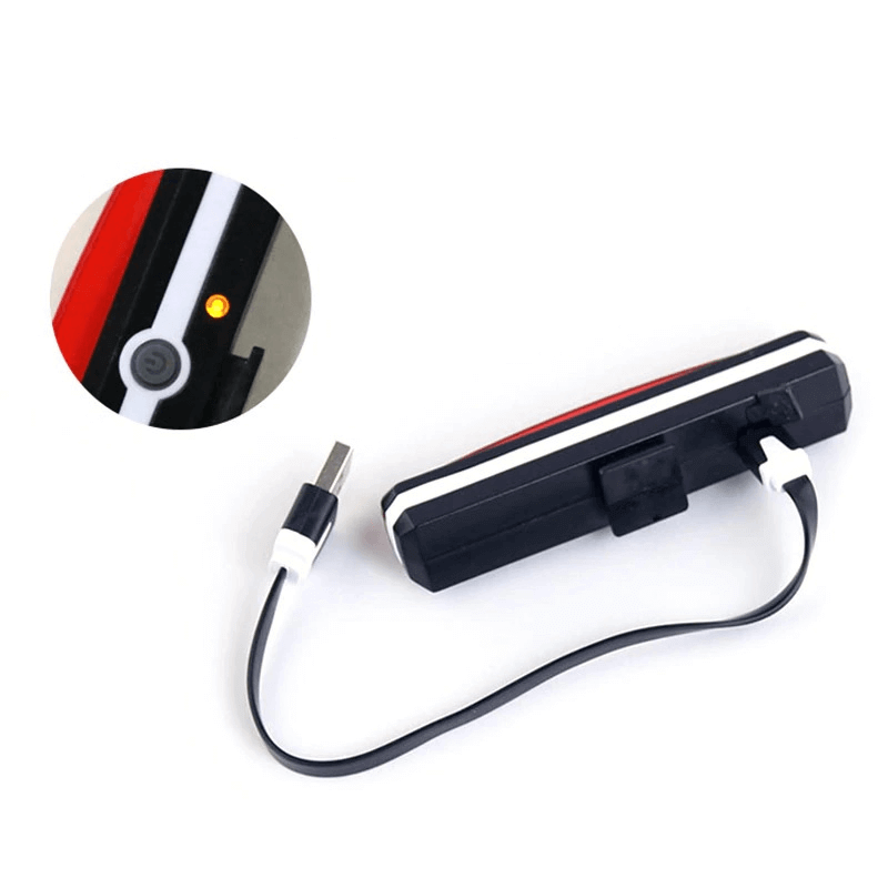 6 Modes Waterproof Bicycle LED Rear Light