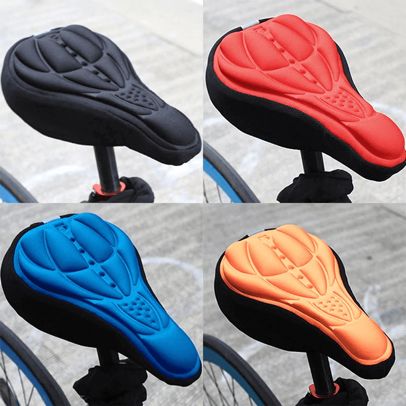 Bicycle Soft Silicone 3D Gel Pad Cushion Cover
