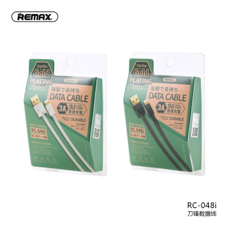 Remax Cable Gold Plating 3A for Type-C RC-048a