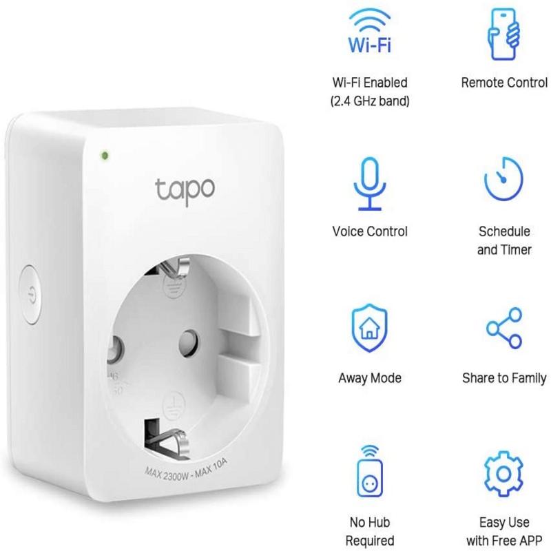 TP-Link Tapo P100 WiFi Smart Plug
