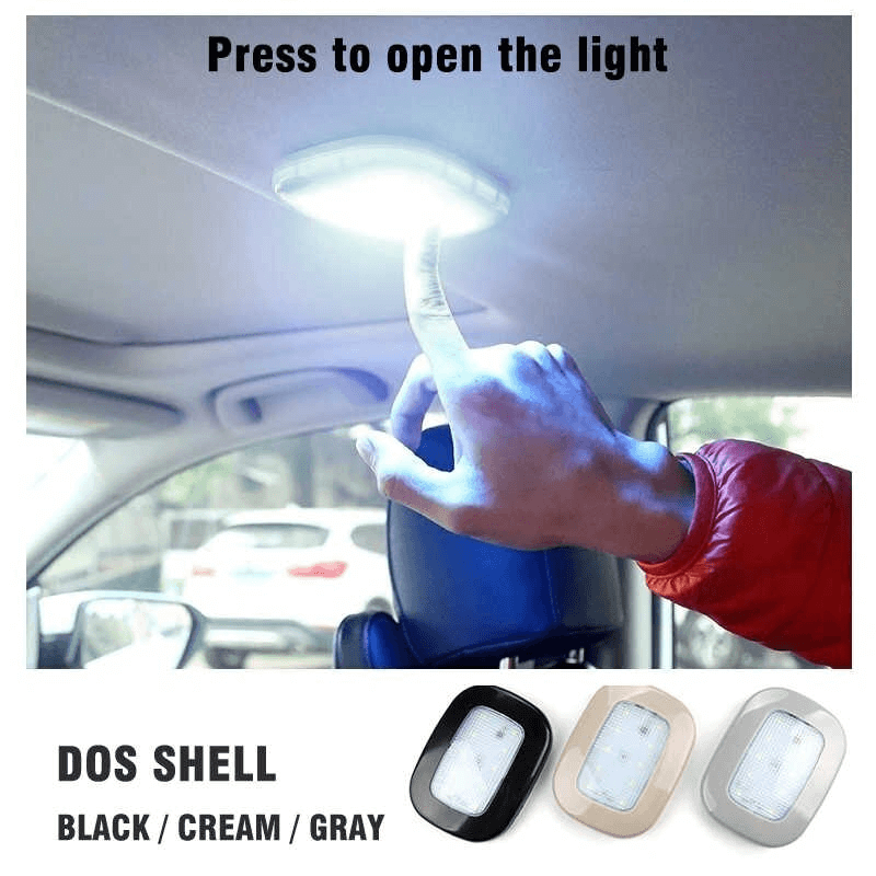 USB Car LED reading Light with Touch Switch