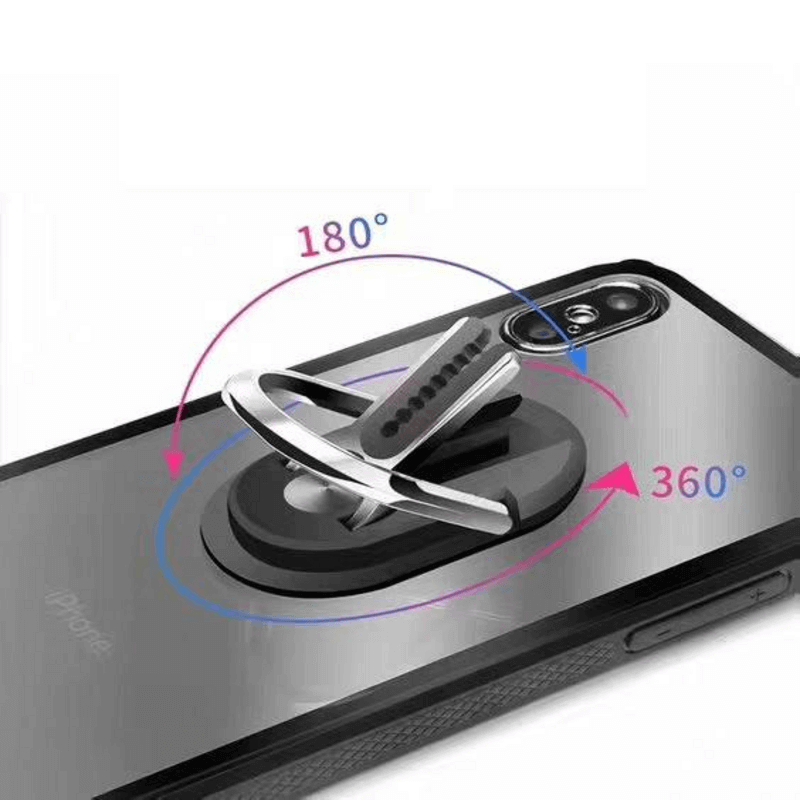 3 in 1 Cell Phone Ring Holder Car Mount