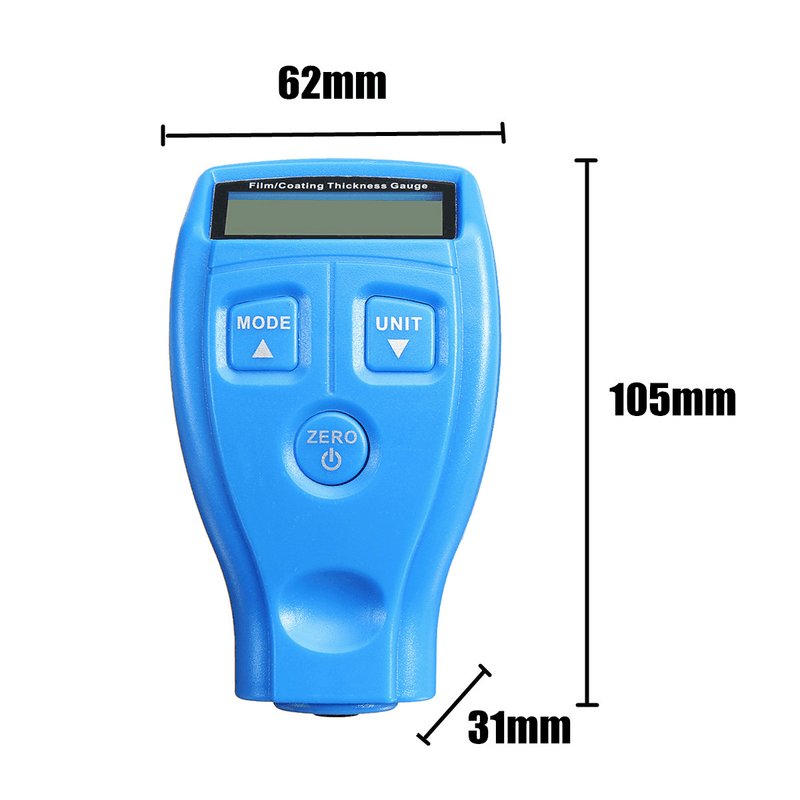 Auto Car Paint Coating Measuring Gauge Meter