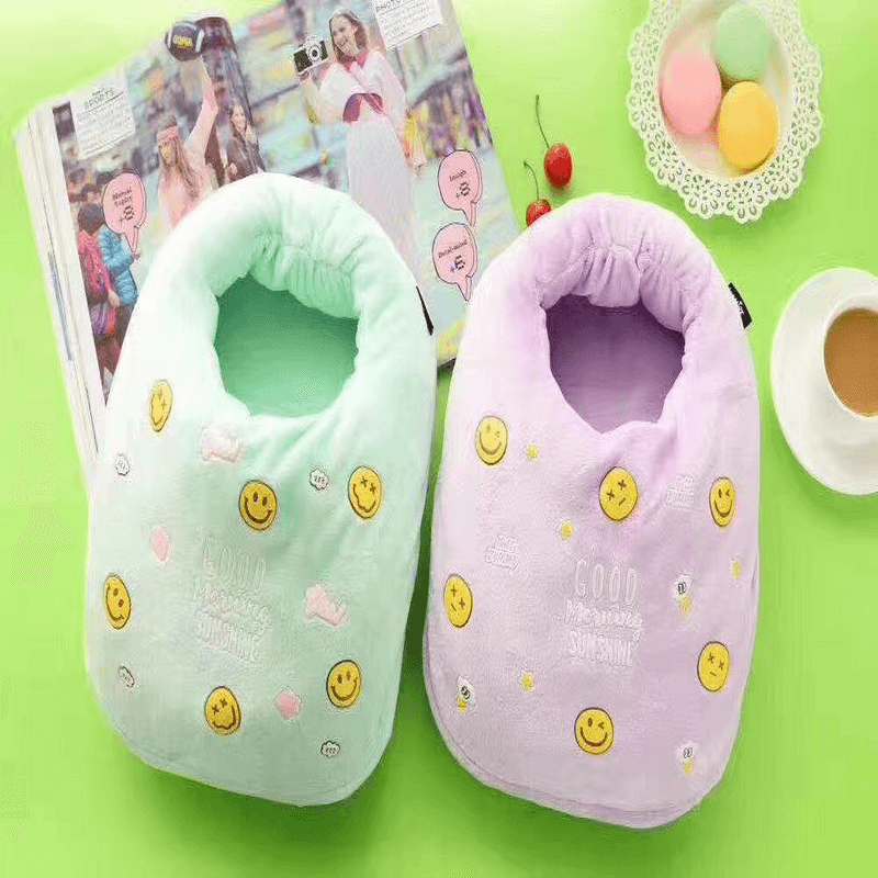 Electric Foot Warm Heating Slippers