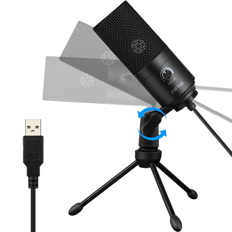 FIFINE-K669-wired-USB-microphone