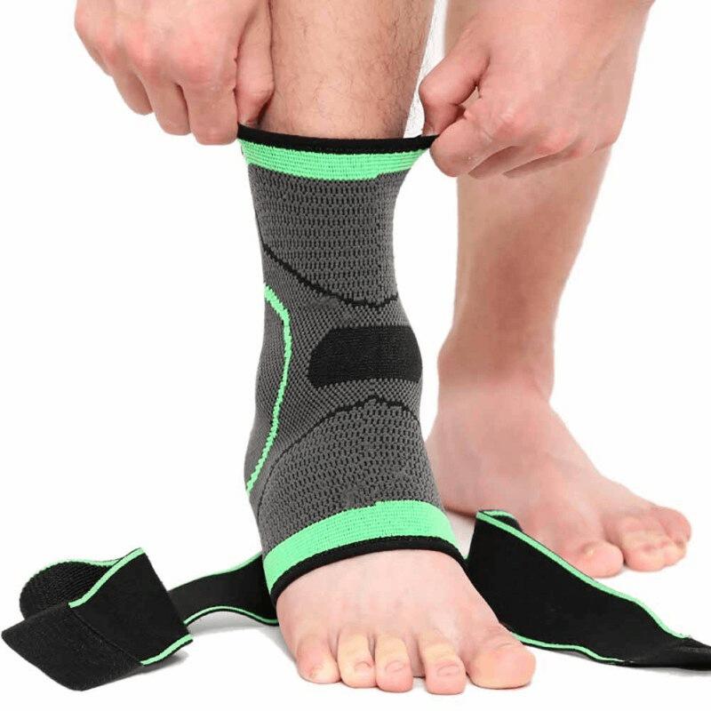 Men Ankle Support 3D Webbing Elastic Strap