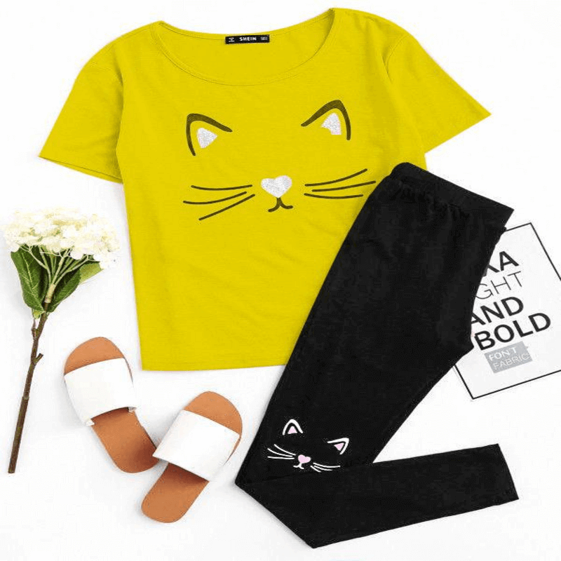 stylish-fashionable-latest-design-casual-printed-T-shirt-and-tro