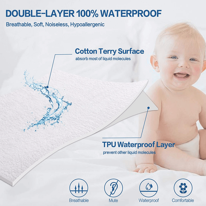 100% Waterproof Mattress Protector
