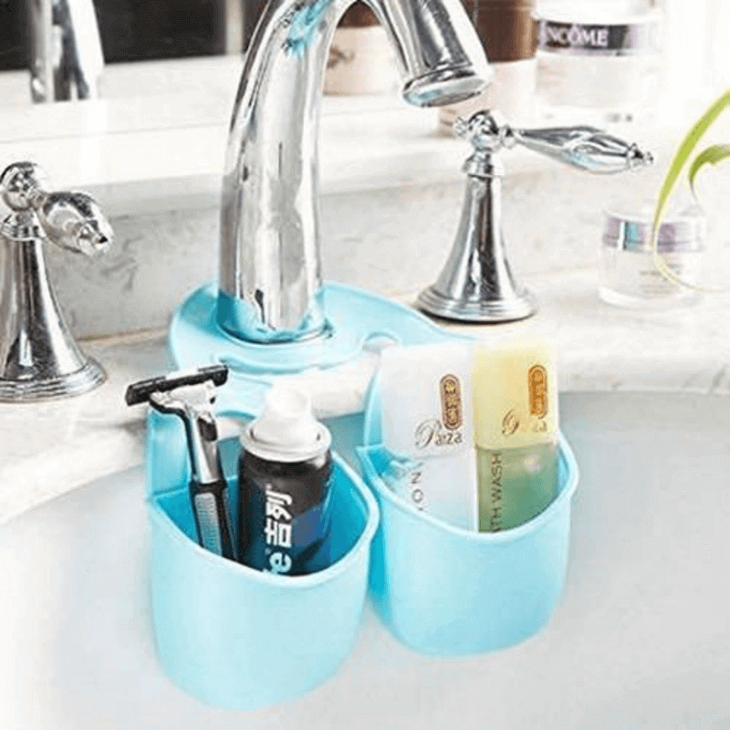 stylish-silicon-sink-organizer-double-cup
