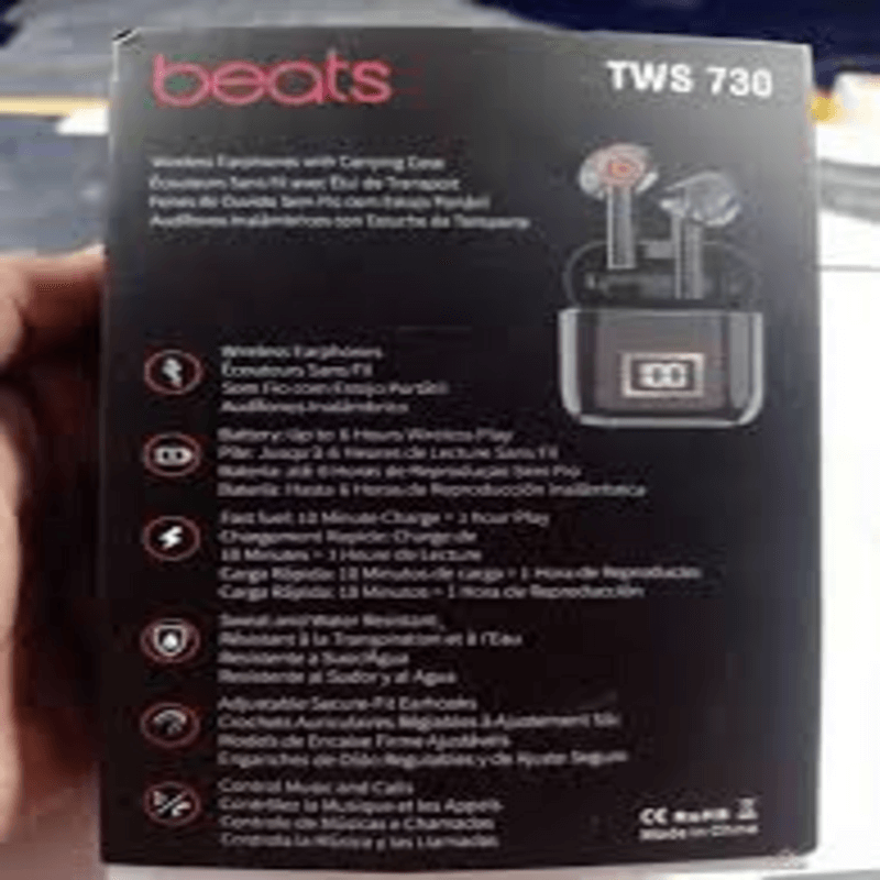 Tws 730 Beats Studio Pro Wireless 76t Black