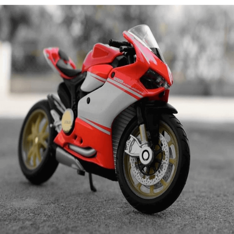 Maisto-die-cast-model-bike