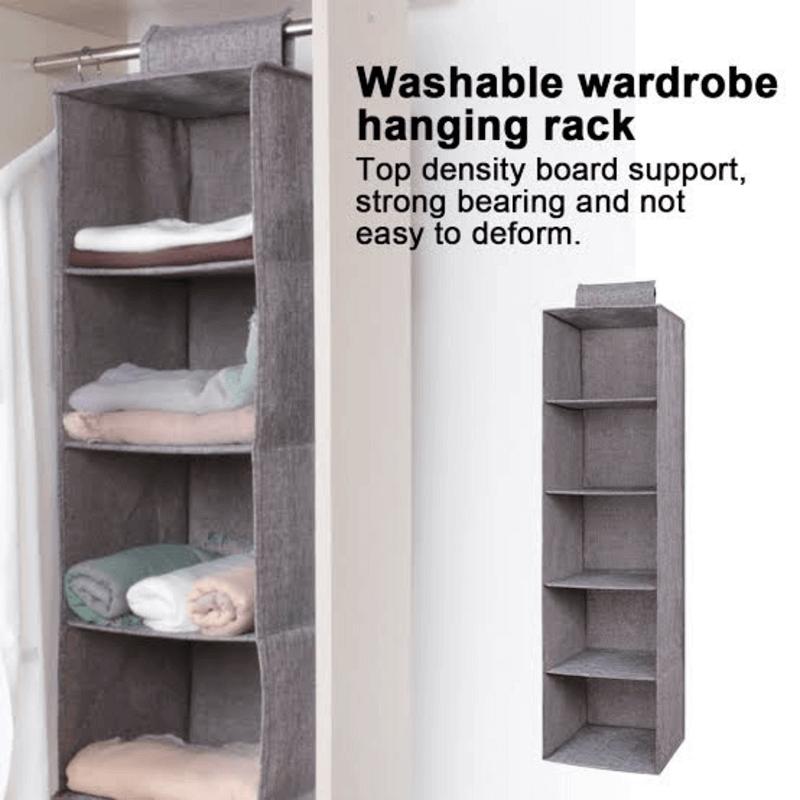Washable Wardrobe Hanging Rack
