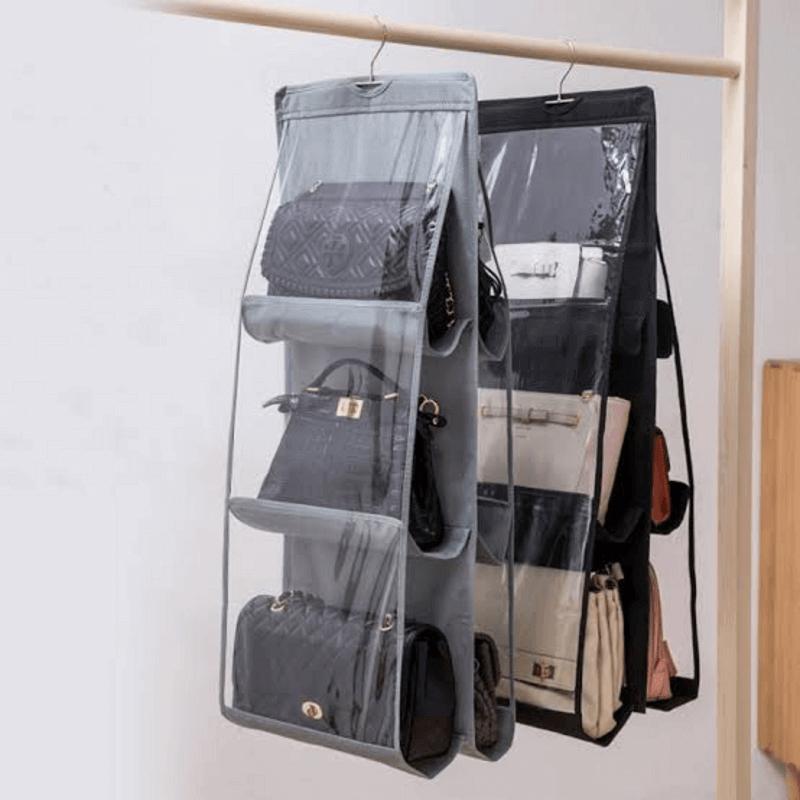 6-Pockets-Multi-Functional-Hanging-Purse-Organizer
