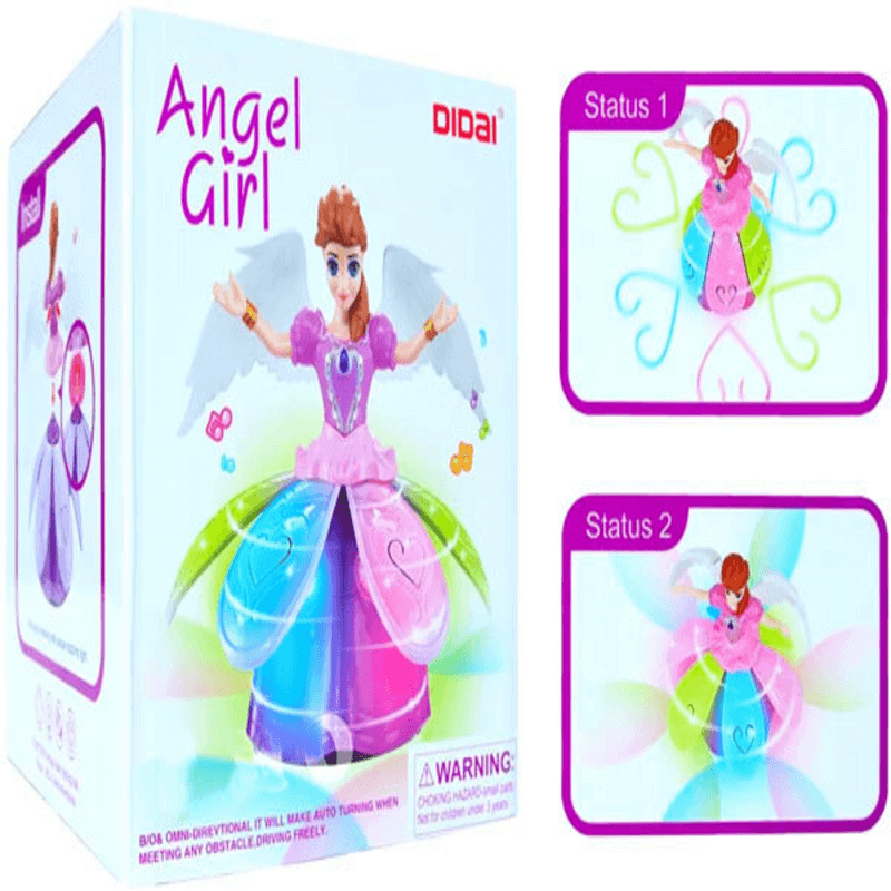 Musical Angel Girl Toy with Lighting