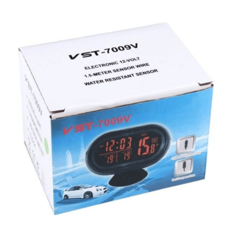 VST-7009V 4 In 1 Digital Car Clock