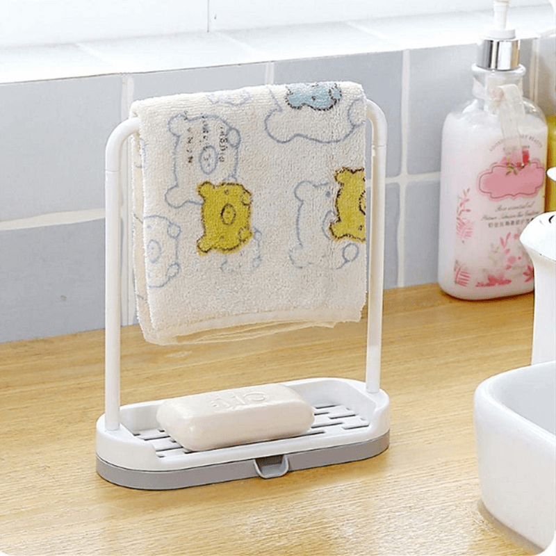 mini-stand-bathroom-kitchen-2-in-1-towel-hanging-rack-soap-holde