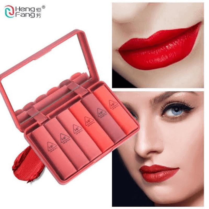 Heng Feng Mini Lipstick - Pack of 6