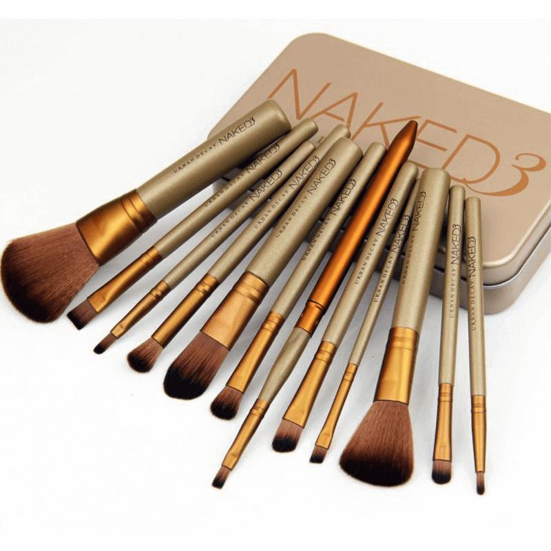 Makeup Brush Set Naked 3 - 12 pcs