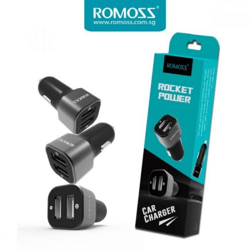 Romoss Car Charger Rocket Power 2USB 2.4A AM12