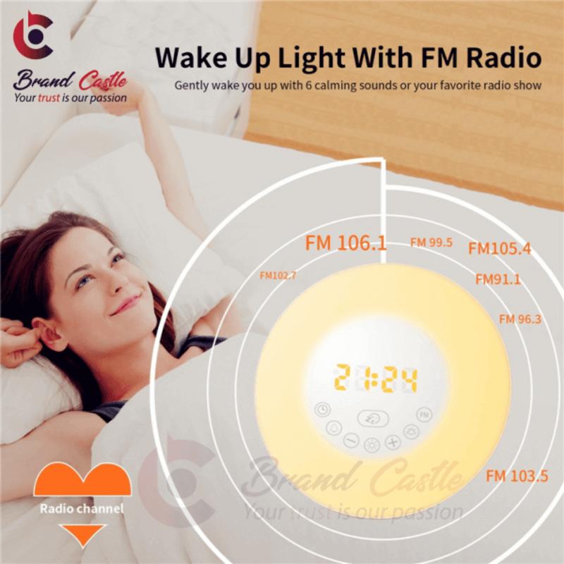 Wake up Light with Bluetooth Speaker and FM Radio