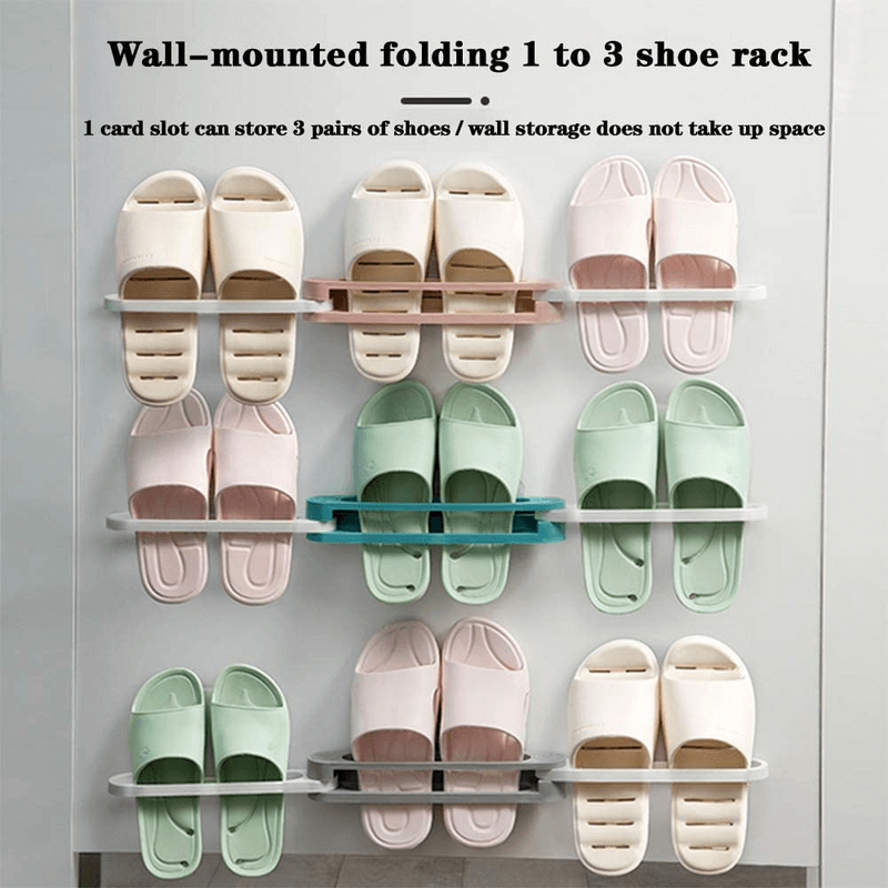 adjustable-space-saving-wall-rack-for-slipper