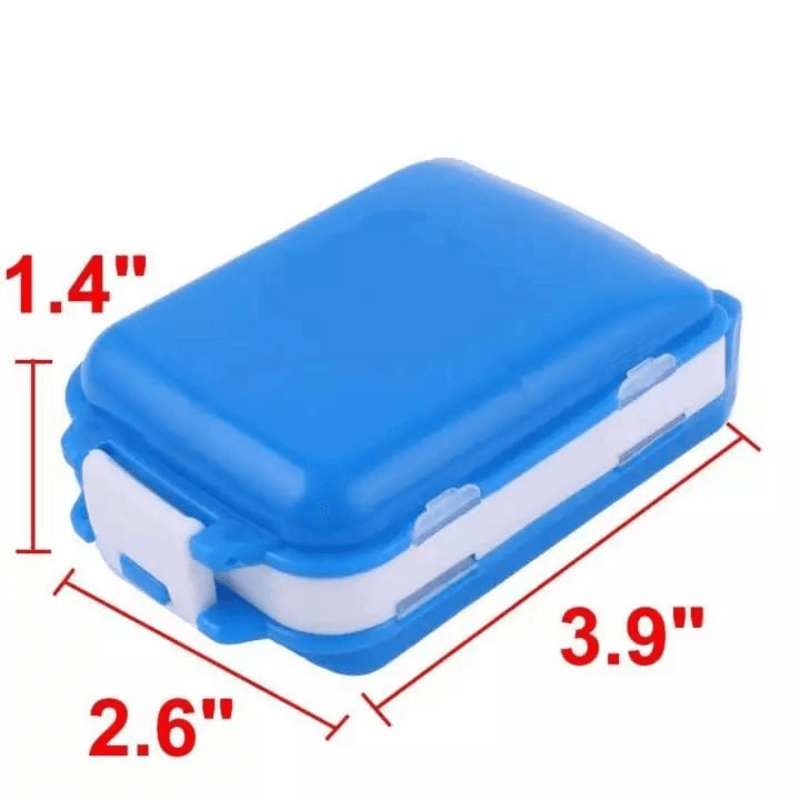 Folca Pill Portable Plastic Case & Splitters