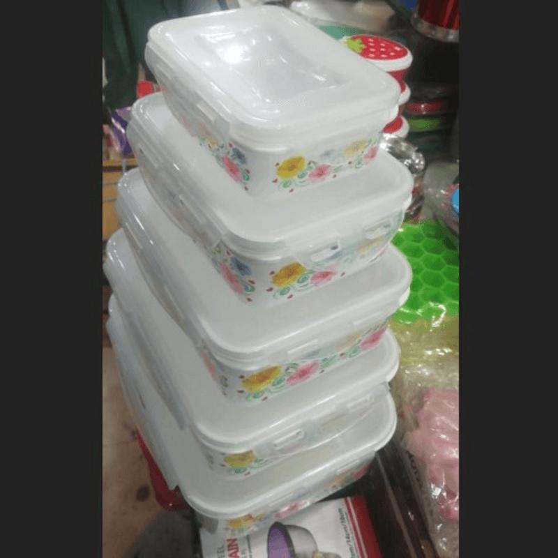 5PCS Fresh Storage Boxes