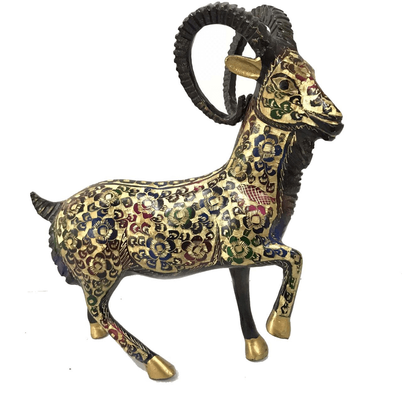 markhor-statue